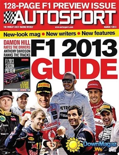 Autosport kansi