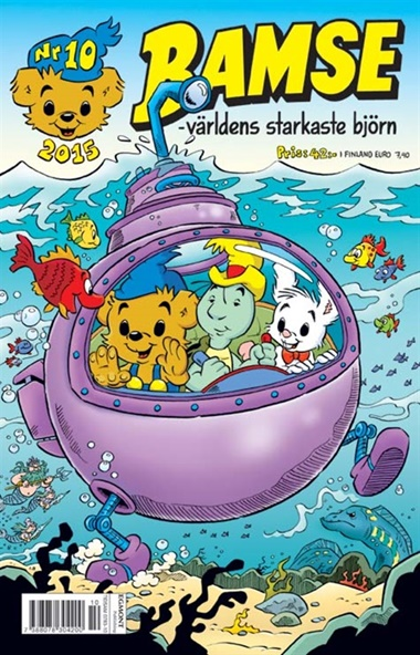 Bamse (ruotsi) kansi