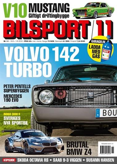 Bilsport (ruotsi) kansi