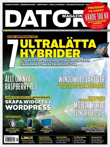 Datormagazin (ruotsi) kansi