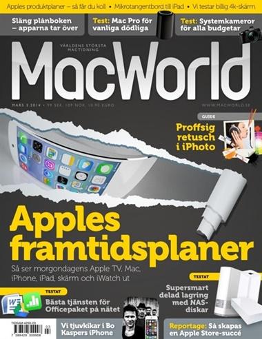 MacWorld (ruotsi) kansi