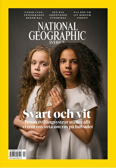 National Geographic Sverige kansi