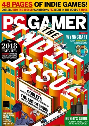 Pc Gamer (UK Edition) kansi
