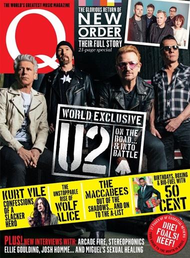 Q Magazine kansi