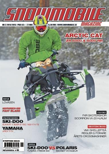 Snowmobile kansi