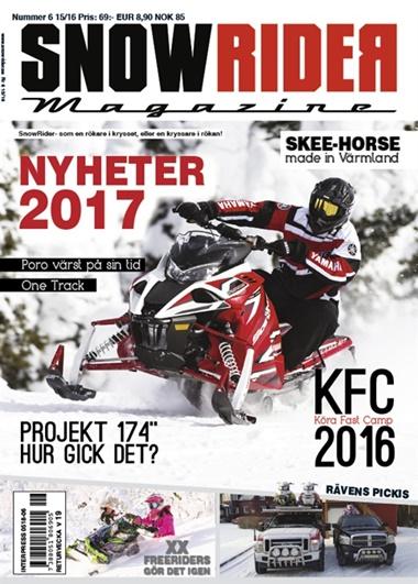 SnowRider (ruotsi) kansi