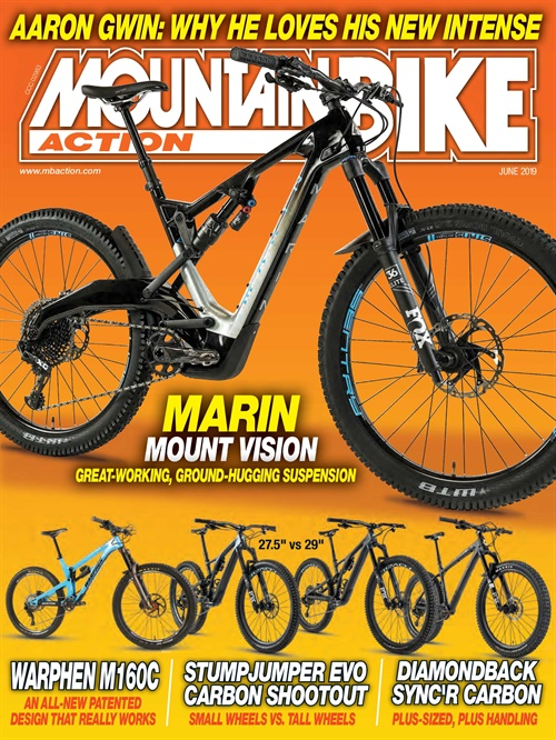 Mountain Bike Action kansi
