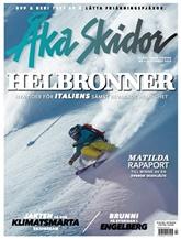 Åka Skidor (ruotsi) kansi