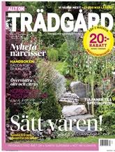 Allt om Trädgård (ruotsi) kansi