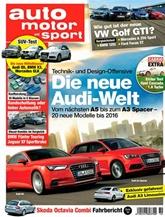 Auto Motor Und Sport (German Edition) kansi