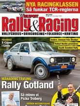 Bilsport Rally&Racing (ruotsi) kansi