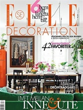ELLE Decoration (ruotsi) kansi