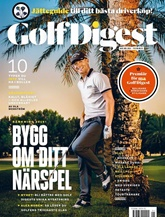 Golf Digest (ruotsi) kansi