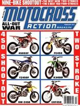 Motocross Action kansi