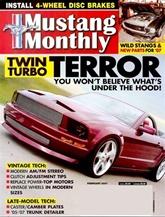 Mustang Monthly kansi