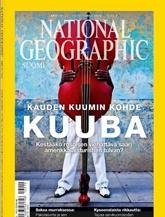 National Geographic Suomi kansi