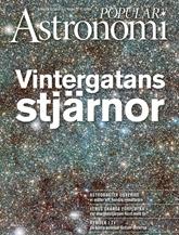 Populär Astronomi (ruotsi) kansi