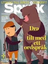 Språktidningen (ruotsi) kansi