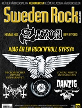 Sweden Rock Magazine (ruotsi) kansi