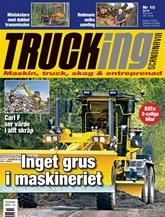 Trucking Scandinavia (ruotsi) kansi