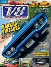 V8-Magazine kansi