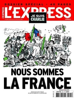 L'express International kansi