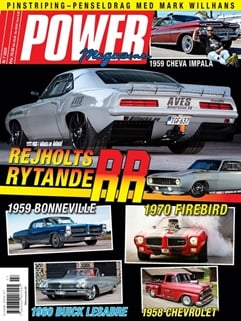 Power Magazine kansi