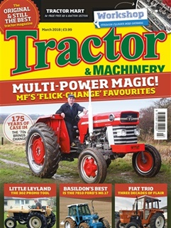 Tractor & Machinery kansi