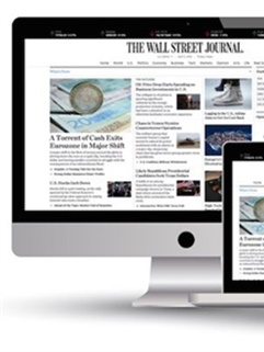 Wall Street Journal Online kansi