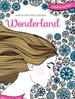 Aikuisten värityskirja Wonderland kansi