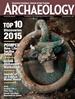 Archaeology Magazine kansi